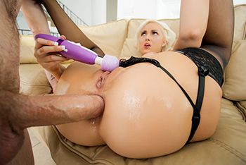 Mrs. Ivory's First Anal!